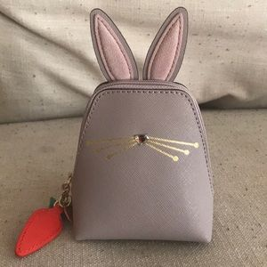 Kate Spade rabbit mini hayden coin purse